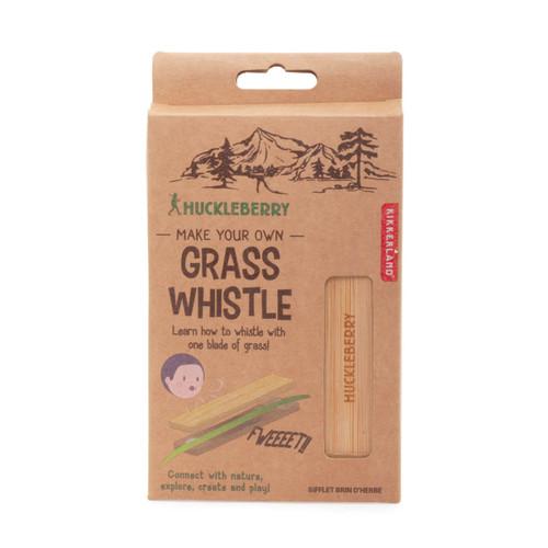 Huckleberry Grass Whistle Kit
