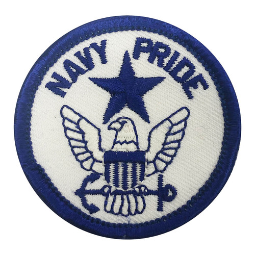 NYPENN Pathways' Navy Pride Fun Pat