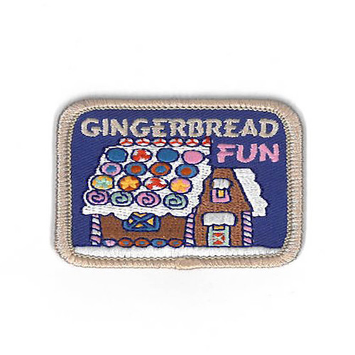 GSCM Gingerbread House Patch