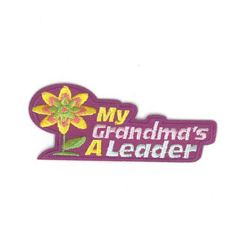 GSCM My Grandma's a Leader Patch