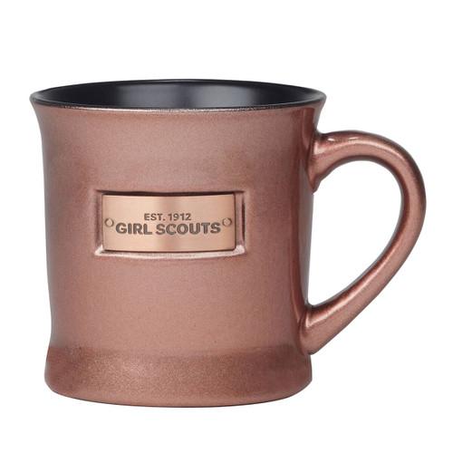 Vintage Coppertone Emblem Mug