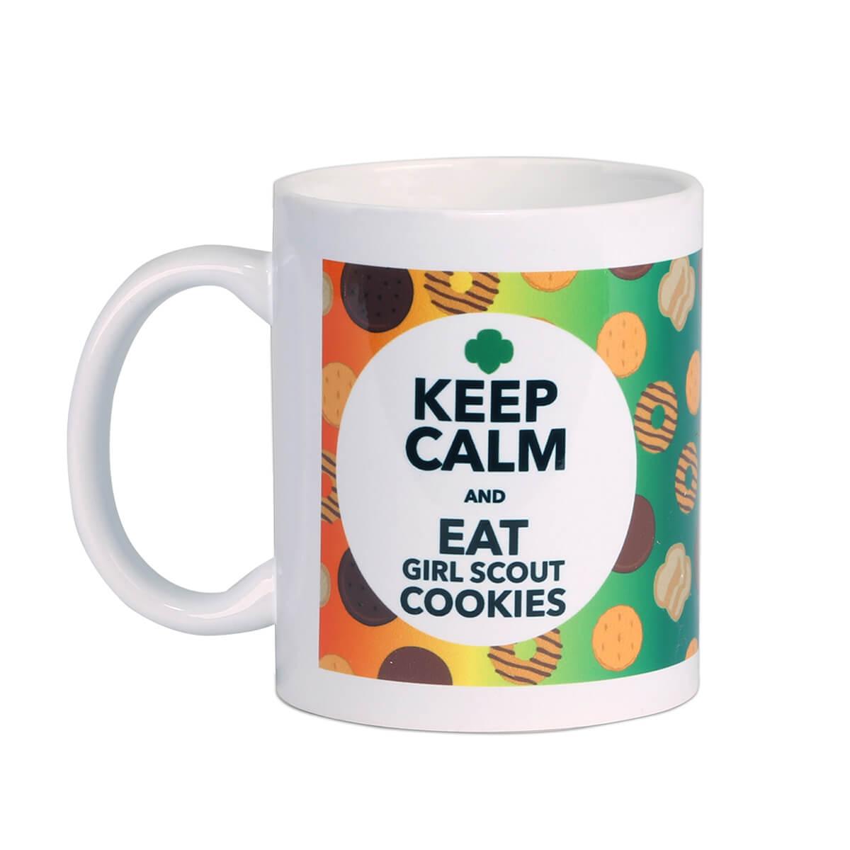 Keep Calm Cookie Mug