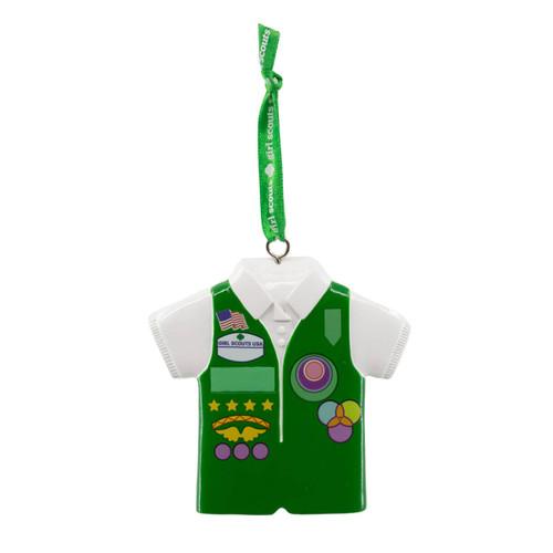 Girl Scout Junior Vest Ornament