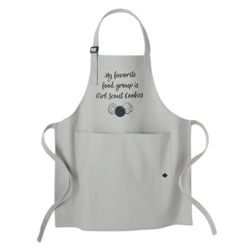 My Favorite Girl Scout Cookies Apron - Adult