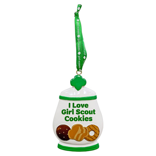 Girl Scout Cookie Jar Ornament