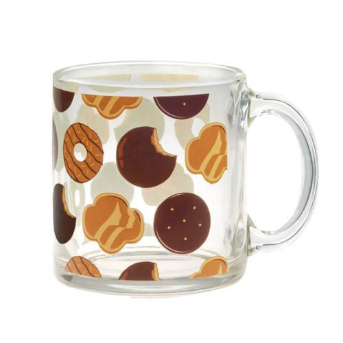 Girl Scout Cookies Glass Mug