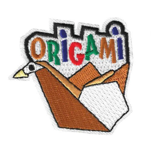 GSWPA Origami Iron-On Fun Patch
