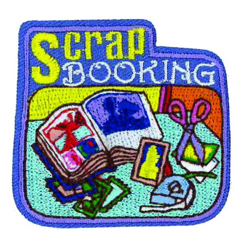 GSWPA Scrapbooking Iron-On Fun Patc