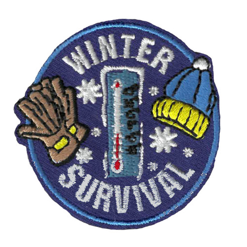GSWPA Winter Survival Iron-On Fun P