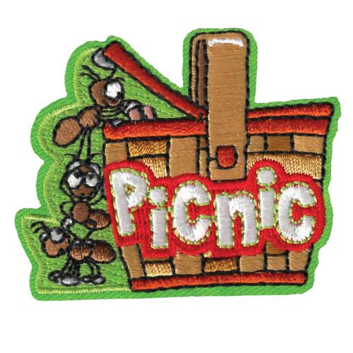 GSWPA Picnic Iron-On Fun Patch