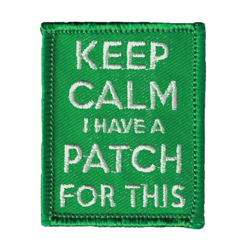 GSWPA Keep Calm I Have A Patch For