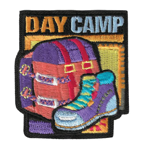 GSWPA Day Camp Iron-On Fun Patch