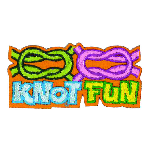 GSWPA Knot Fun Iron-On Fun Patch
