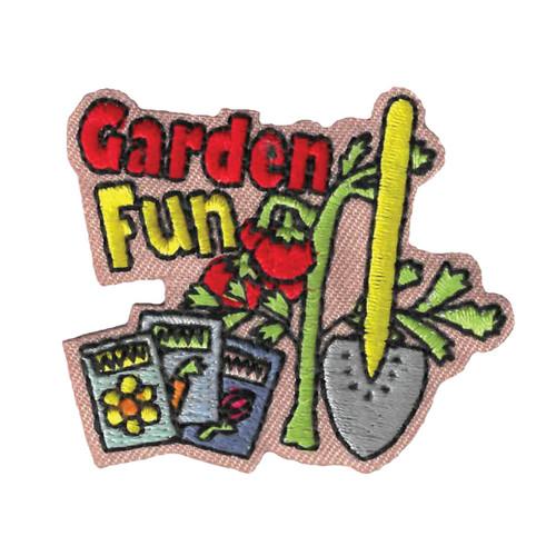 GSWPA Garden Fun Iron-On Fun Patch
