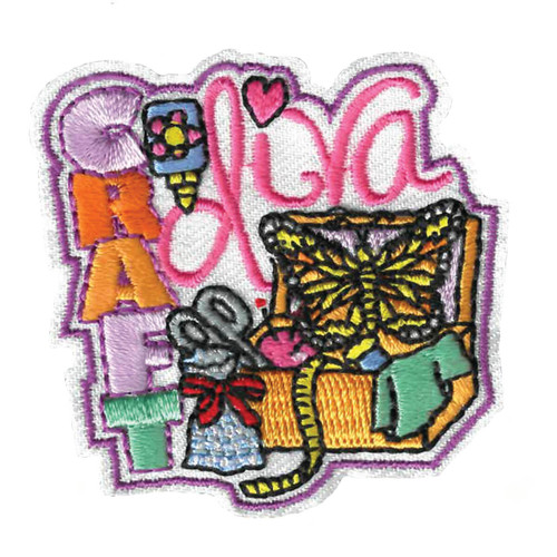 GSWPA Craft Diva Iron-On Fun Patch