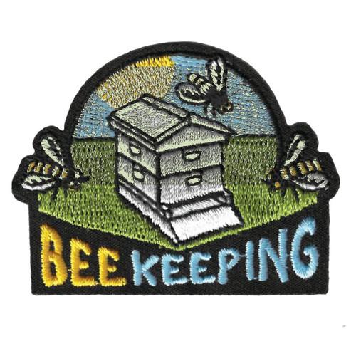 GSWPA Bee Keeping Iron-On Fun Patch
