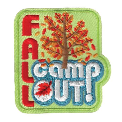 GSWPA Fall Camp Out Iron-On Fun Pat