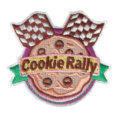 GSWPA Cookie Rally Iron-On Fun Patc