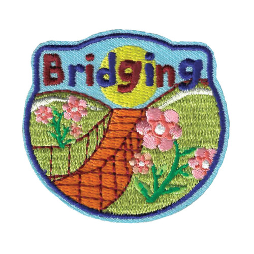 GSWPA Bridging Iron-On Fun Patch