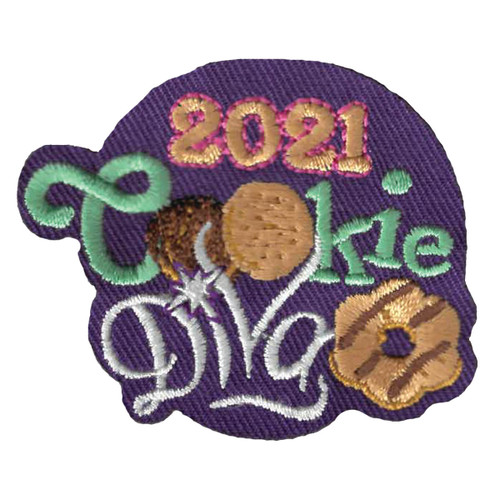 GSWPA Cookie Diva 2021 Iron-On Fun