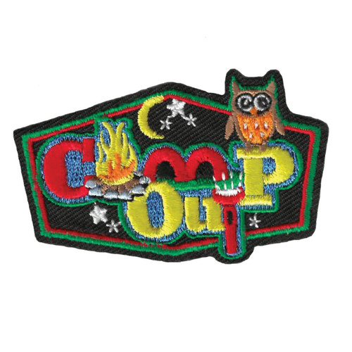 GSWPA Camp Out Iron-On Fun Patch