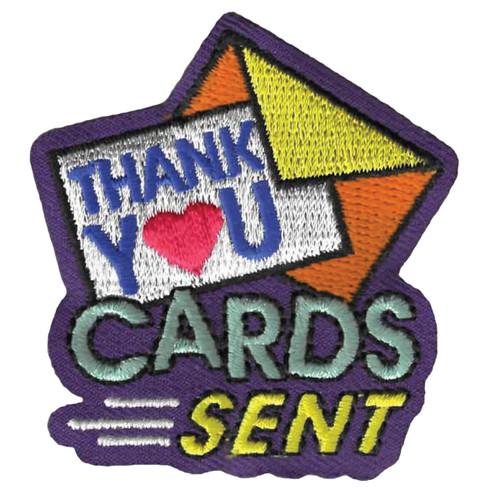 GSWPA Thank You Cards Sent Iron-On