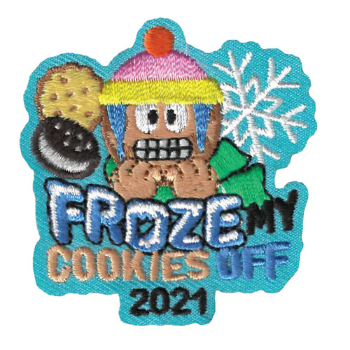 GSWPA Froze My Cookies Off 2021 Iro