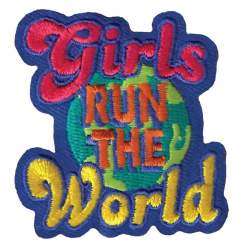 GSWPA Girls Run the World Iron-On F