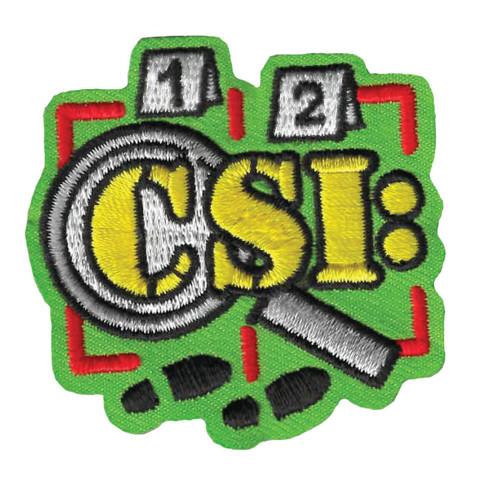 GSWPA CSI Iron-On Fun Patch