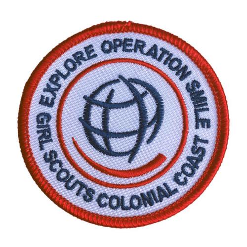 GSCCC Explore Operation Smile patch