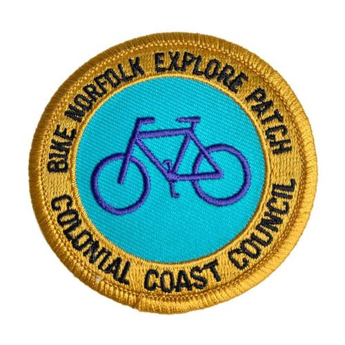 GSCCC Explore Bike Norfolk patch