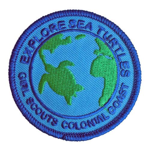 GSCCC Explore Sea Turtles patch