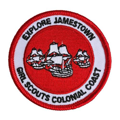 GSCCC Explore Jamestown patch