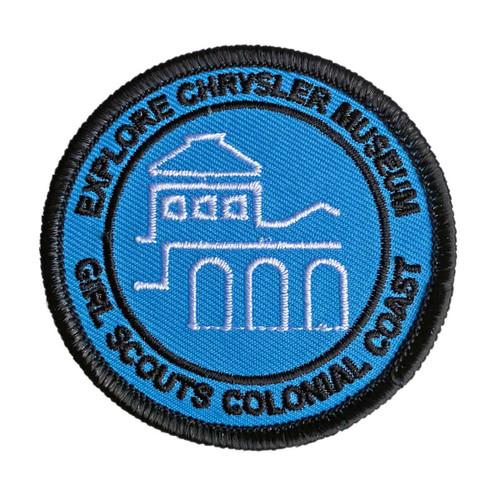 GSCCC Explore Chrysler Museum Patch