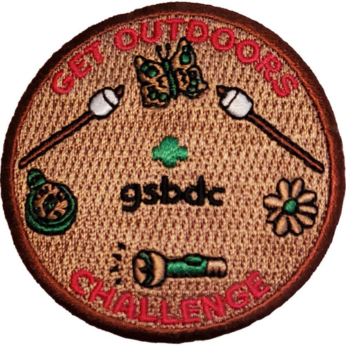 GSBDC Get Outdoors Challenge Patch