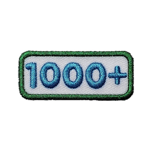 GSNCA 1000+ Cookie Number Bar Patch