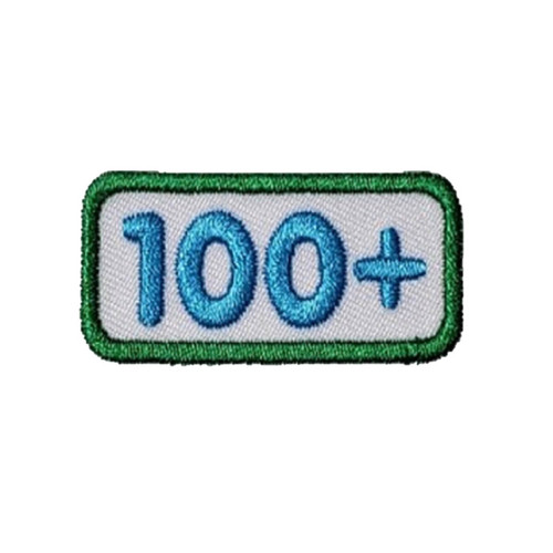 GSNCA 100+ Cookie Number Bar Patch