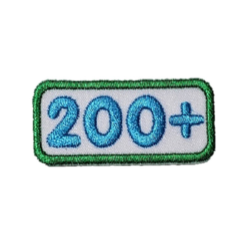 GSNCA 200+ Cookie Number Bar Patch