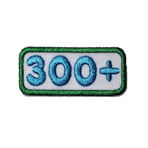 GSNCA 300+ Cookie Number Bar Patch