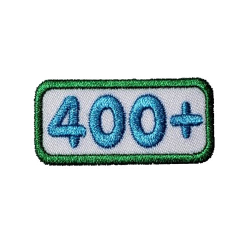 GSNCA 400+ Cookie Number Bar Patch
