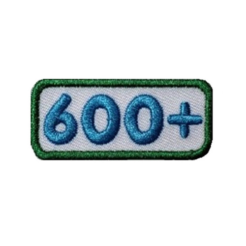 GSNCA 600+ Cookie Number Bar Patch