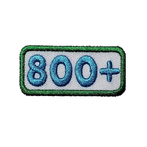 GSNCA 800+ Cookie Number Bar Patch