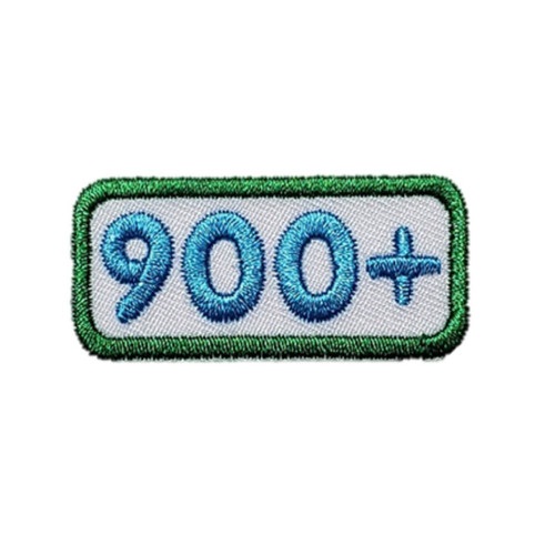 GSNCA 900+ Cookie Number Bar Patch