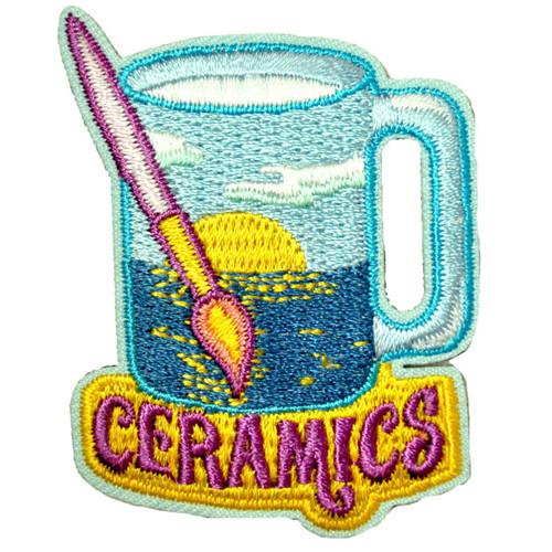 GSWCF Ceramics Fun Patch