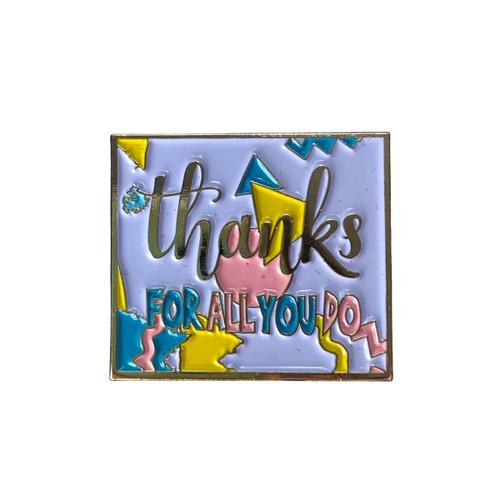 GSWCF Thank You Trading Pin