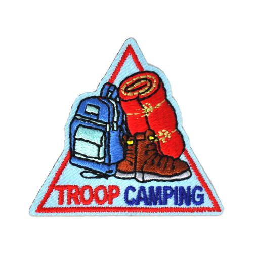 GSWCF Troop Camping Fun Patch
