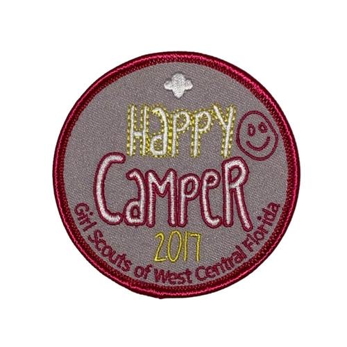 GSWCF Happy Camper Fun Patch