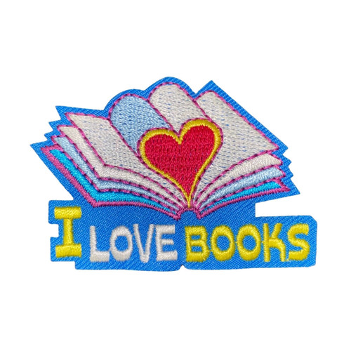 GSWCF I Love Books Fun Patch