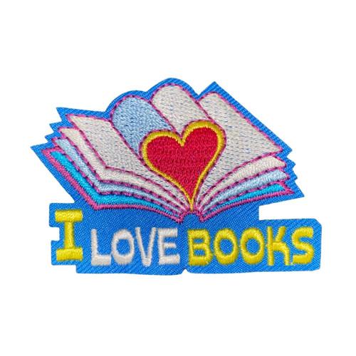 GSWCF I Love Books Fun Patch