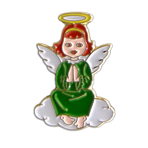 GSWCF Green Angel Trading Pin
